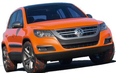 Photo du design extérieur TIGUAN CONCEPT 2006