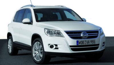 Photo du design extérieur de la Volkswagen Tiguan